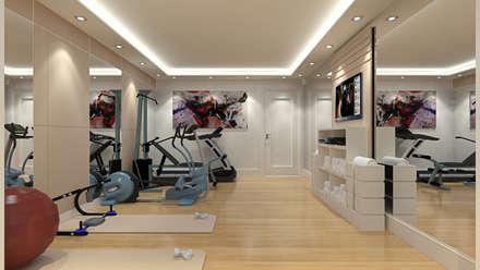 modern Gym by Alev Racu