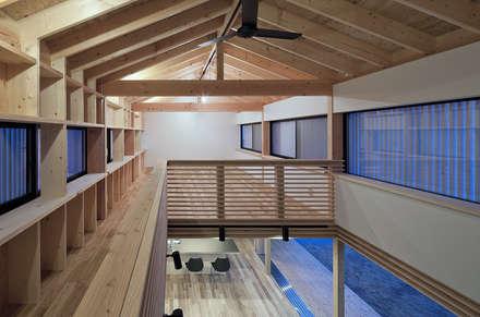 asian Nursery/kid's room by 伊藤憲吾建築設計事務所