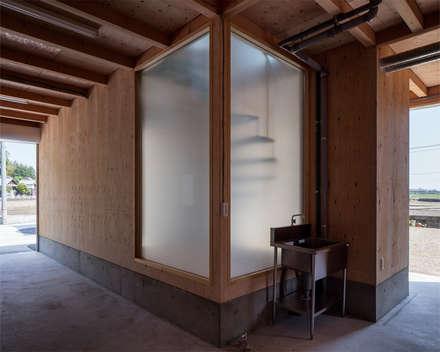 برجولا للسيارة تنفيذ 伊藤憲吾建築設計事務所
