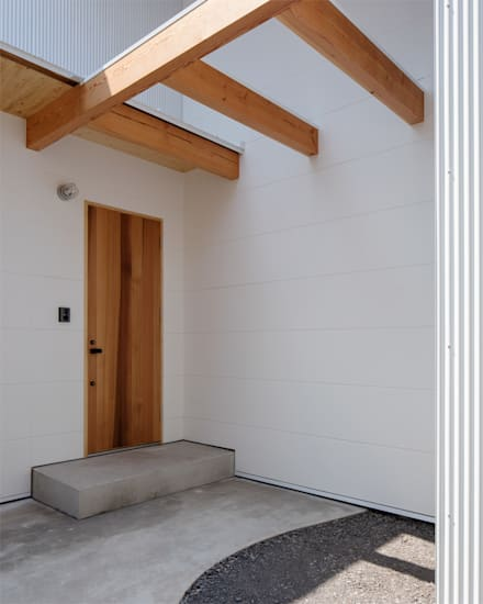 Cửa gỗ by 伊藤憲吾建築設計事務所