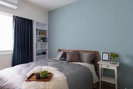 scandinavian Bedroom by 辰林設計