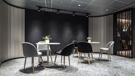 Sales Office: modern Living room by Artta Concept Studio