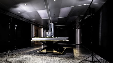 Sales Office: modern Study/office by Artta Concept Studio