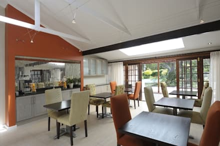 Renovations to Gardenview Guest House: modern Dining room by The Matrix Urban Designers and Architects