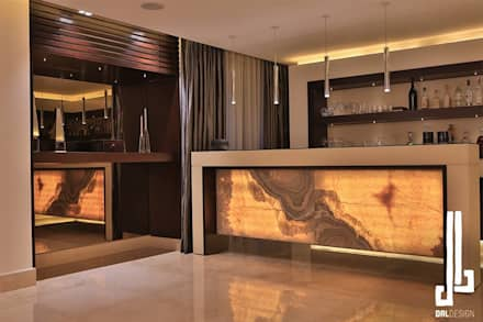 Nassars Private Villa: Modern Wine Cellar By Dal Design Office