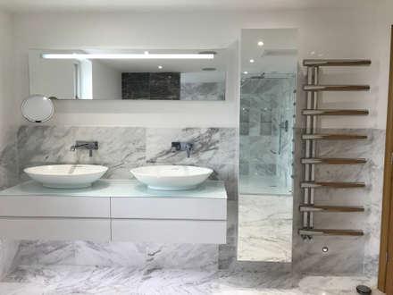Hotel Inspired Bathroom: modern Bathroom by DeVal Bathrooms