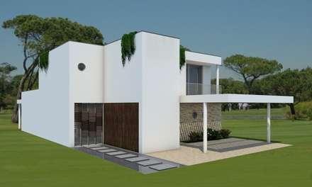 Passiefhuis door Evomod - Construções Modulares