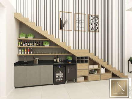 Stairs by Isabela Notaro Arquitetura e Interiores