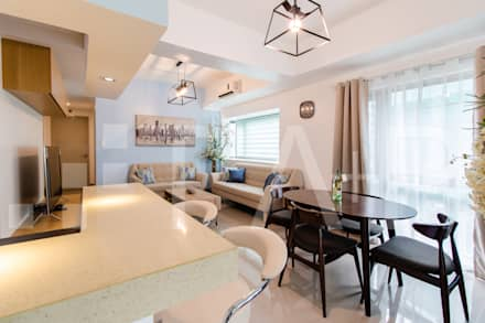 1314 Forbeswood BGC: modern Dining room by TA+P Design Lab