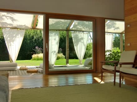 Wooden windows by Woodbau Srl
