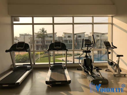 Villa Project at Renaissance Nature Walk: modern Gym by Deccan Structural Systems Pvt. Ltd.