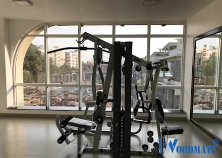 modern Gym by Deccan Structural Systems Pvt. Ltd.