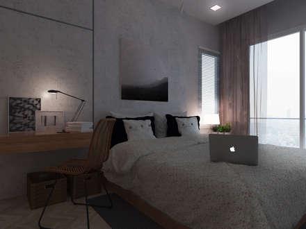 Harmony living:  ห้องนอน by Unidentified studio