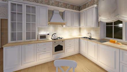 Уютная классика: Кухни в . Автор – Lela Rink
