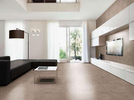 Place: Salas de estar industriais por Love Tiles