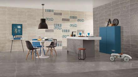 Ground: Cozinhas industriais por Love Tiles