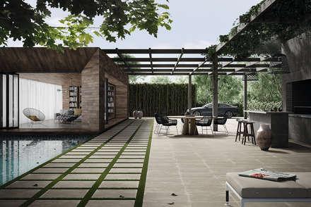 industrial Garden by Love Tiles
