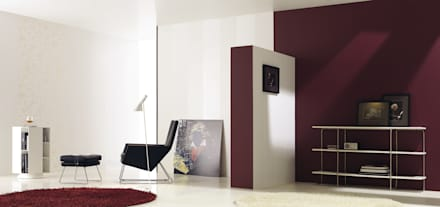 Light: Salas de estar industriais por Love Tiles