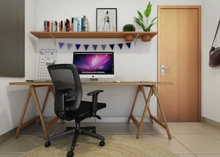 minimalistic Study/office by Bernardo Horta Arquiteto