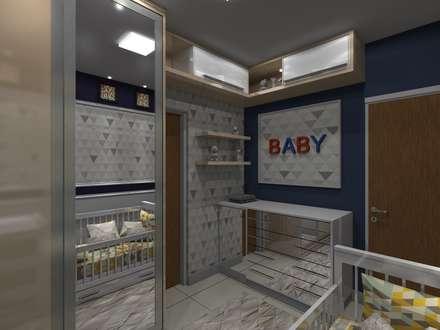 غرف الرضع تنفيذ Arquiteto Lucas Lincoln