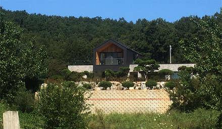 외부전경: (주)건축사사무소 예인그룹의  계단
