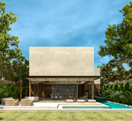 Villas by Obed Clemente Arquitectura
