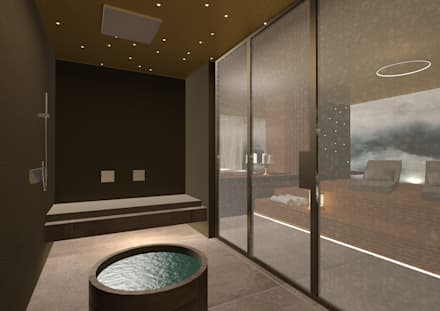 modern Spa by Giemmecontract srl.