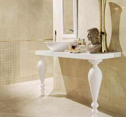 Royale: Casas de banho industriais por Love Tiles