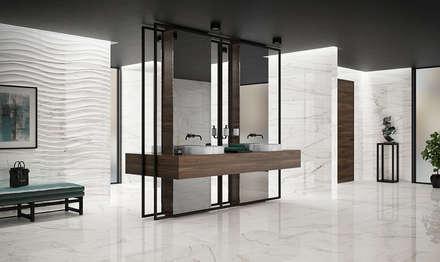 Precious: Casas de banho industriais por Love Tiles