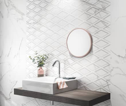 industrial Bathroom by Love Tiles
