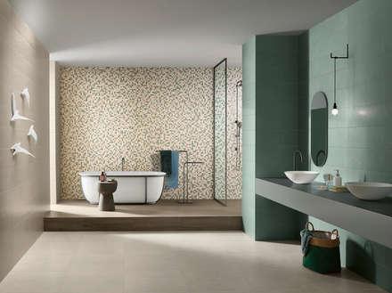 industrial Bathroom by Love Tiles