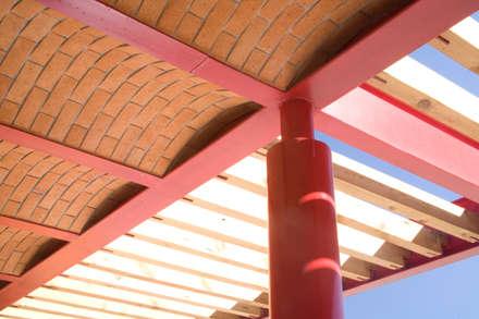 سطح مستوي / رووف مستوي تنفيذ Eduardo Gutiérrez Taller de Arquitectura