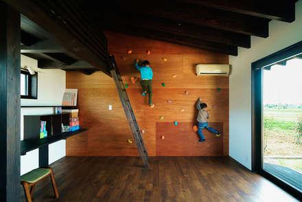 غرفة الاطفال تنفيذ H建築スタジオ