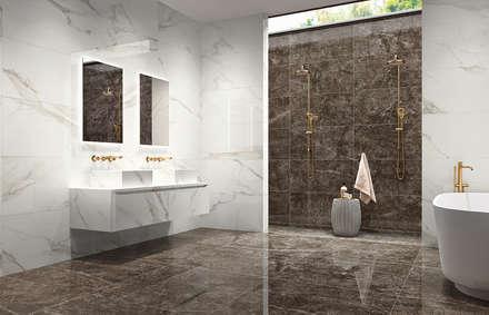 industrial Bathroom by Margres