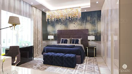:  غرفة نوم تنفيذ Spazio Interior Decoration LLC