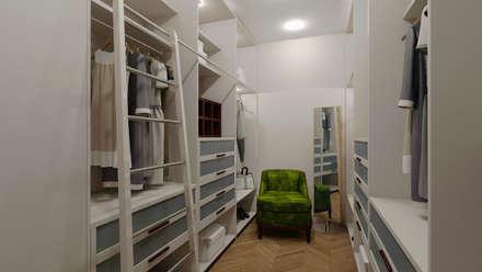 Квартира для джетсеттера: Гардеробные в . Автор – Spacelab Design