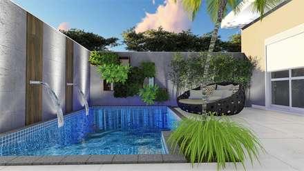 Garden Pool by Trivisio Consultoria e Projetos em 3D