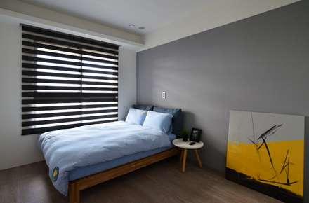 山曦:  嬰兒/兒童房 by 築青室內裝修有限公司