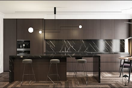 DM: Кухни в . Автор – U-Style design studio