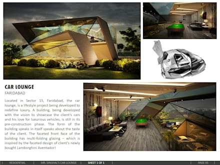 Car Lounge:  Passive house by amitmurao.com