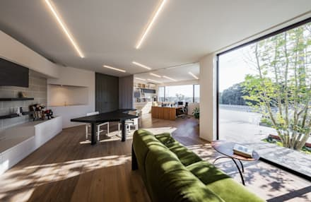1Fアトリエ: 株式会社seki.designが手掛けた書斎です。