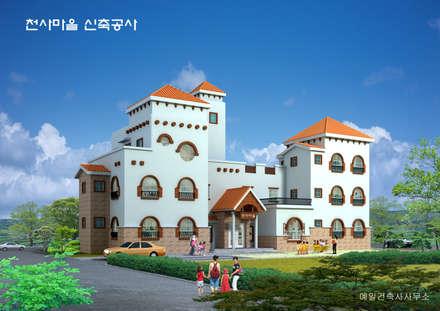 전경: (주)건축&건축사사무소예일의  빌라