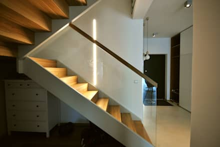 Stairs by Piotr Stolarek Projektowanie Wnętrz