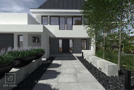Ścieżka do domu : styl , w kategorii Ogród zaprojektowany przez MIA studio