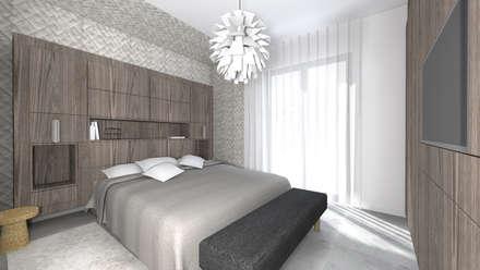 Chambre parentale.: Chambre de style de style Moderne par Lionel CERTIER - Architecture d'intérieur