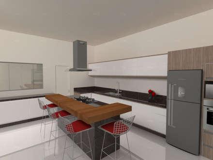 Cozinha: Cozinhas minimalistas por Imaginare Arquitetura e Interiores