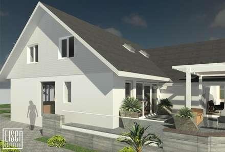 REMODELACIÓN DE VIVIENDA GMS. FL. Miami. USA.: Casas de estilo minimalista por Eisen Arquitecto