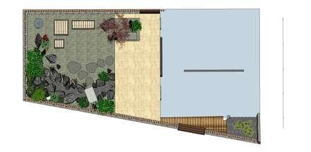 設計規劃:  庭院 by 大地工房景觀公司