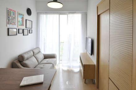 1: minimalistic Living room by Mister Glory Ltd