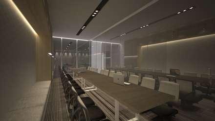 Meeting Room B:  Ruang Kerja by ARAT Design
